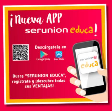 APP SERUNION EDUCA. COMEDOR ESCOLAR | CEIP Badiel, Guadalajara