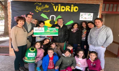 PREMIO PEQUERECICLADORES DE VIDRIO CASTILLA-LA MANCHA 2018