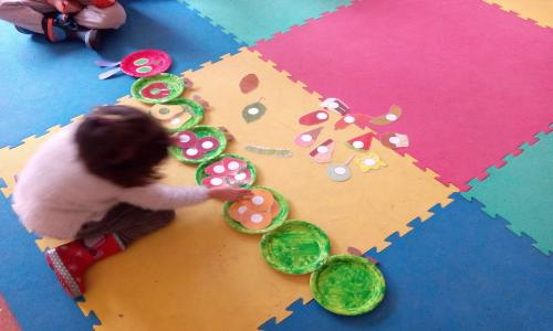 "PROJECT: ""THE VERY HUNGRY CATERPILLAR"""